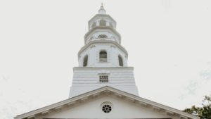 Church Steeple in charleston south carolina